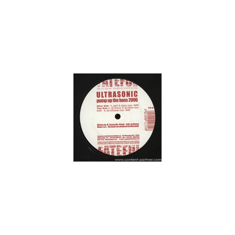Ultrasonic - Pump up the bass 2006