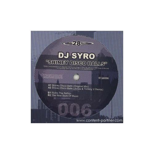Dj syro - Shinney disco balls