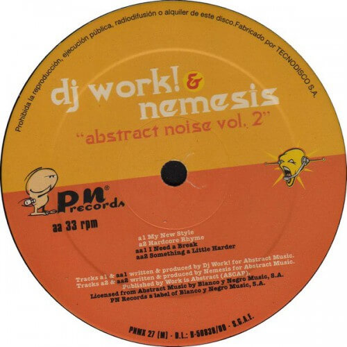 DJ Work! & Nemesis - Abstract Noise Vol. 2