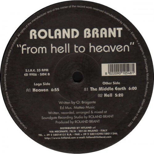 Rolant Brant - From Hell To Heaven