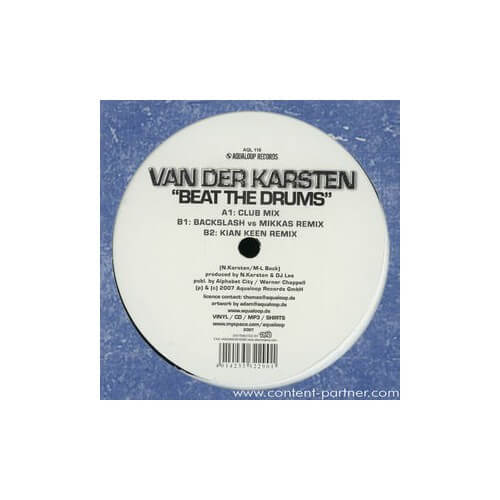 Van Der Kasten - Beat The Drums