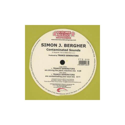 Simon J Bergher - Contaminated Sounds