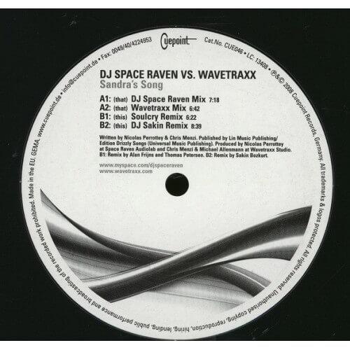 Dj Space Raven vs Wavetraxx - Sandra's Song