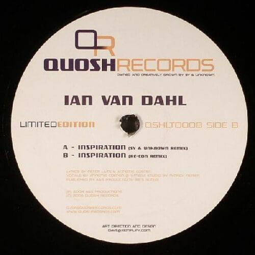 Ian Van Dahl - Inspiration