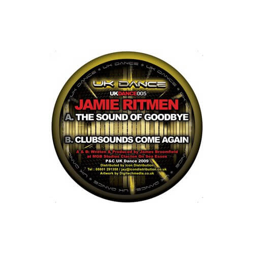 Jamie Ritmen - The Sound Of Godbye