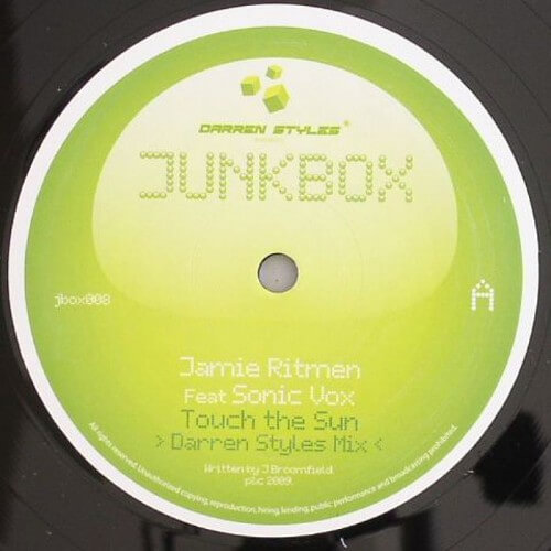 Jamie Ritmen ft Sonic Vox - Touch The Sun