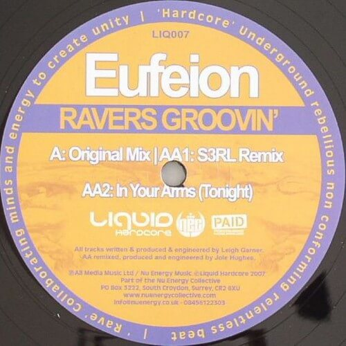 Eufeion - Ravers Groovin