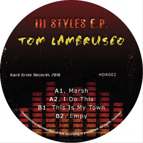 Tom Lambrusco - 3 Styles EP