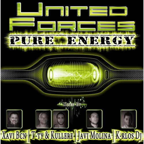 Recopilatorio United Forces | Pure Energy (2CD's) Oferta!