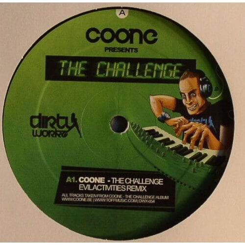Coone - The Challenge (Evil Activities rmx)