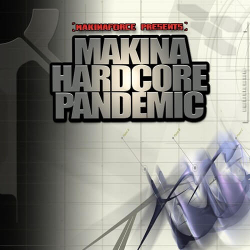 Makina Hardcore Pandemic (CD)