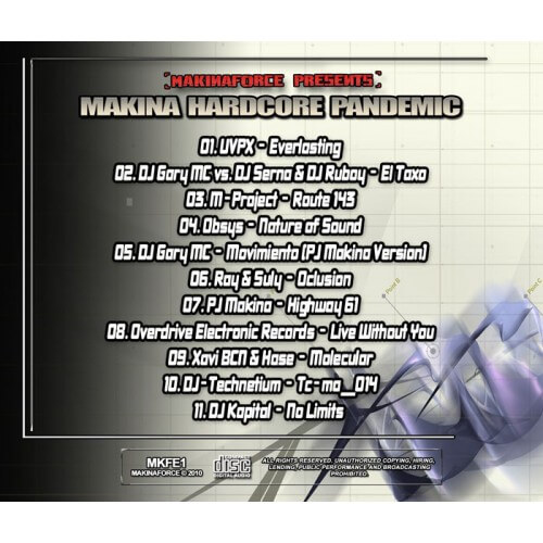 Makina Hardcore Pandemic