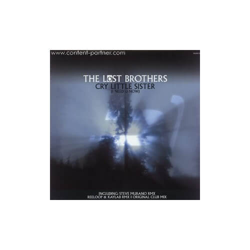 The lost brothers - Cry little sister