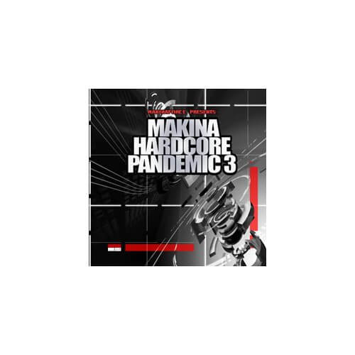 Makina Hardcore Pandemic 3 ( CD )