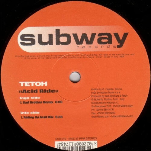 Tetoh - Acid Ride