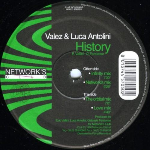 Luca Antolini - History