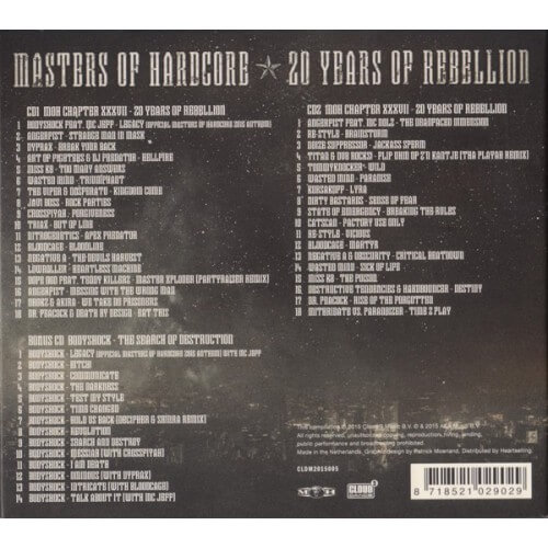 MOH CHAPTER XXXVII - 20 Years Of Rebellion ( 3 CD's )