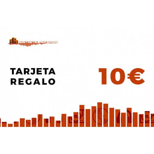 Tarjeta Regalo Sinthetic Records 10€