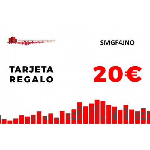 Tarjeta Regalo Sinthetic Records 20€