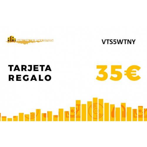 Tarjeta Regalo Sinthetic Records 35€