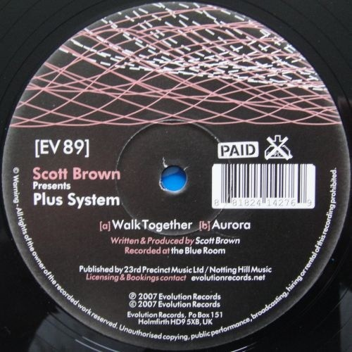 Plus System - Walk Together