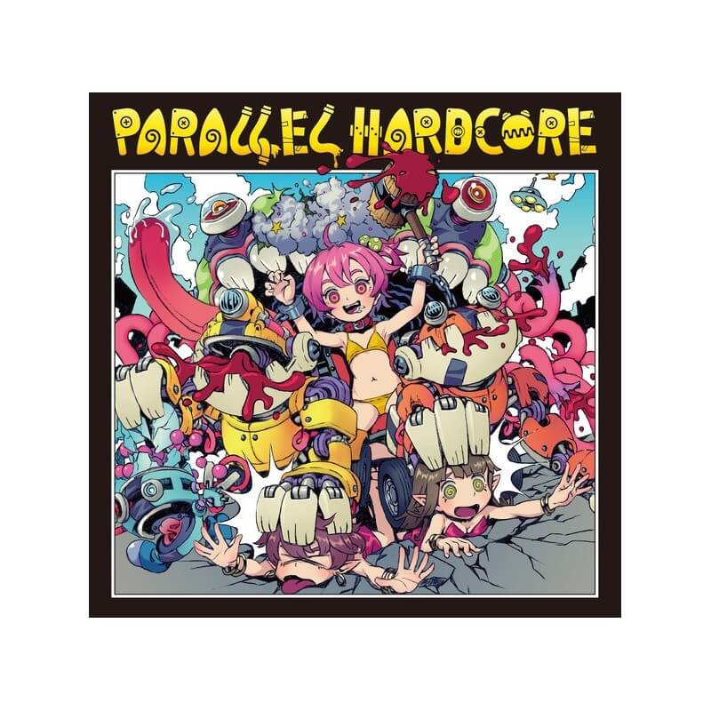 Parallel Hardcore CD Sinthetic Records
