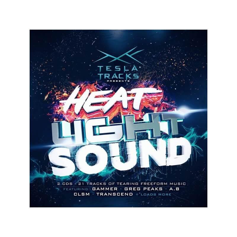 tesla heat sound light sinthetic records