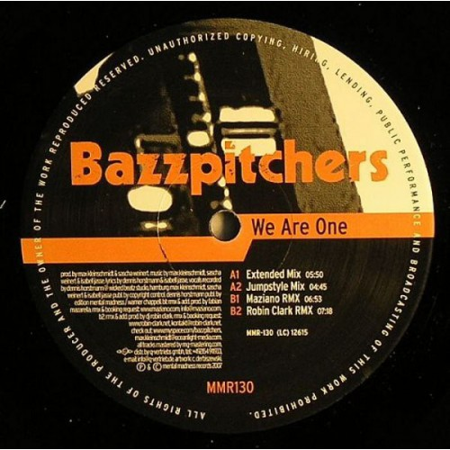 Bazzpitchers - We Are One