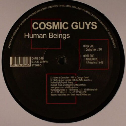 Cosmic Guys - Human Beings
