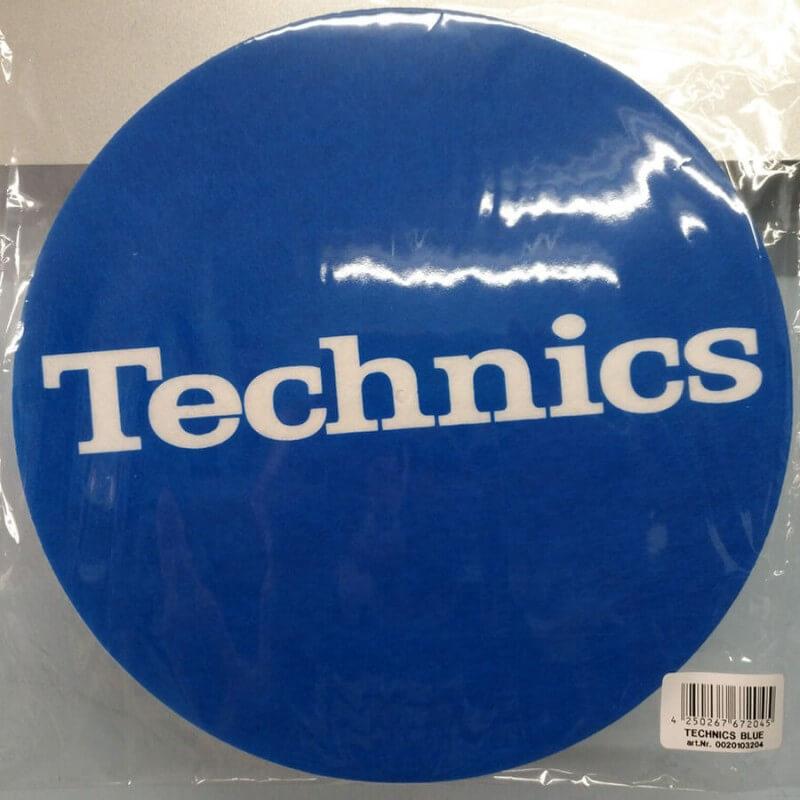 Pareja Patinadores Technics Azul