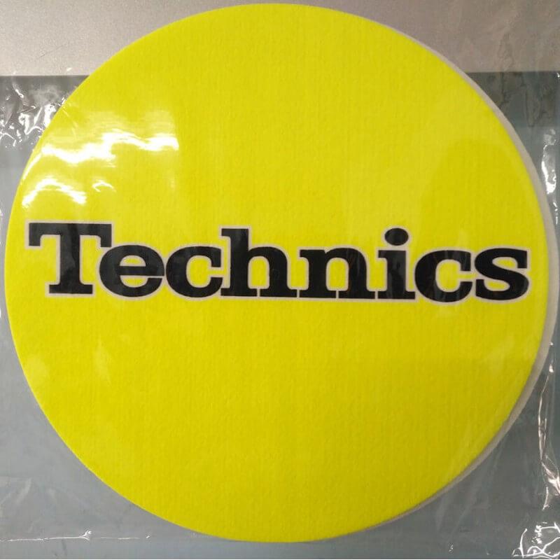 pareja patinadores technics amarillo sinthetic records