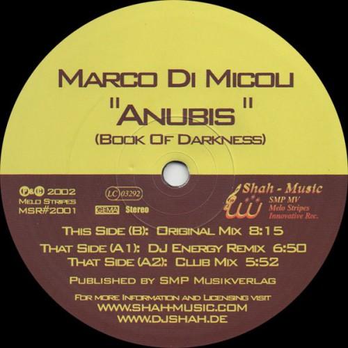 Marco Di Micoli - Anubis