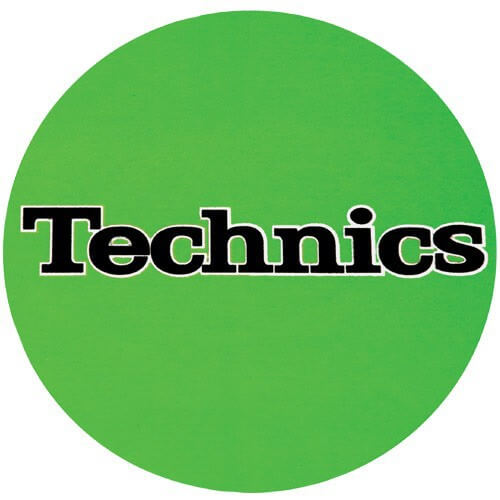Slipmats Technics Black (Pair)