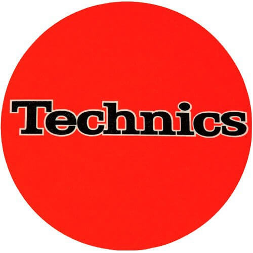 Slipmats Technics Orange (Pair)