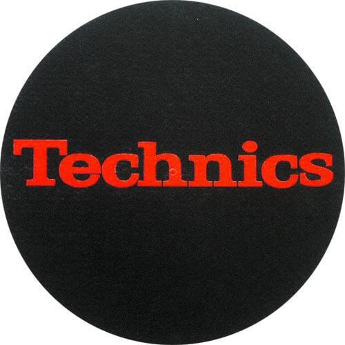 Pareja Patinadores Technics Negro Logo Rojo