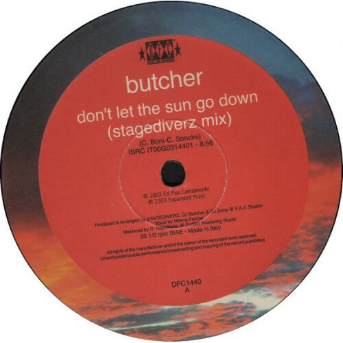 Butcher - Don't Let The Sun Go Down