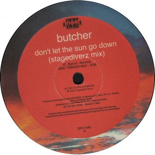 butcher - dont let the sun