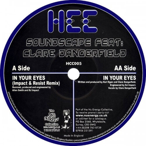 Soundscape feat Clare Dangerfield - in your eyes