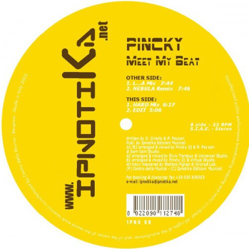 Pinky - Meet My Beat