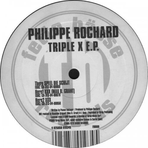 Phillippe Rochard - Triple X ep