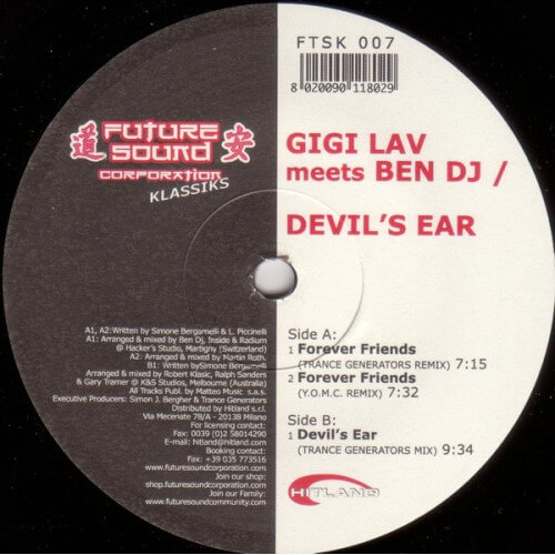 Gigi Lav meets Ben DJ/Devil's Ear