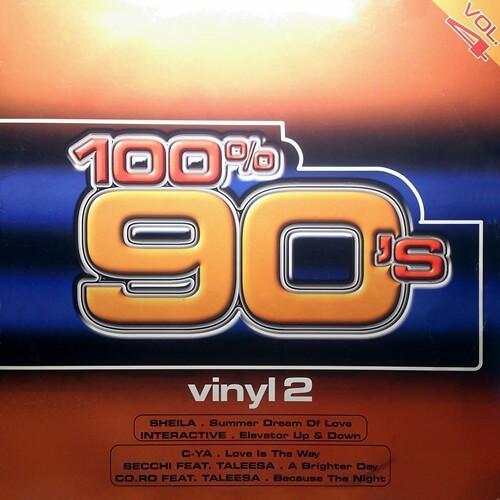 100% 90's vol.4 vinyl 2