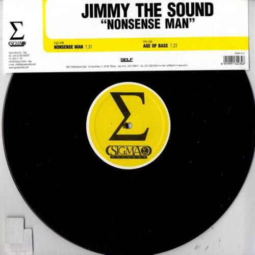Jimmy the sound - Nonsense man