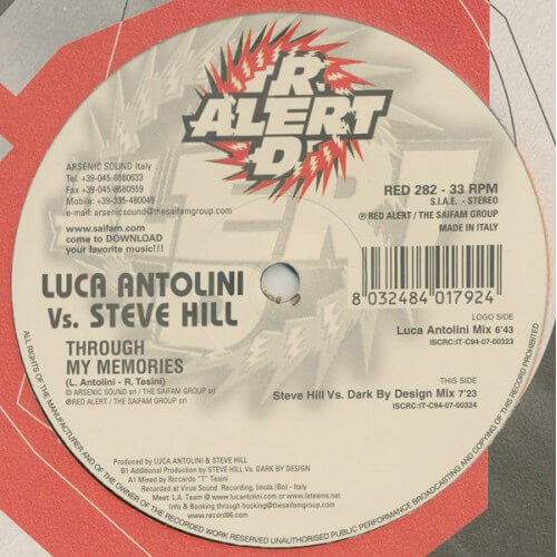 Luca Antolini Vs Steve Hill - Through My Memories