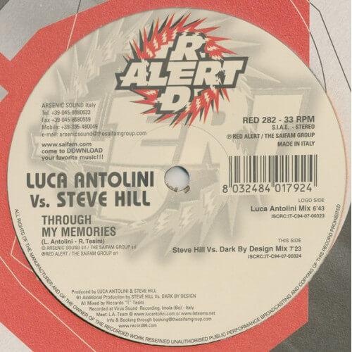 Luca Antolini Vs Steve Hill - Through My Memories