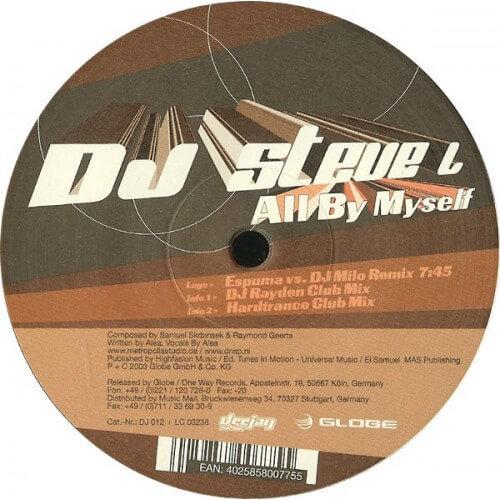 DJ steve L - All by myself