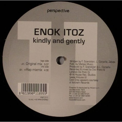 Enok Itoz - Kindly & Gently
