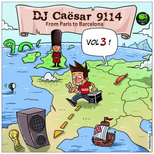 Dj Caesar 9114 - From Paris To Barcelona
