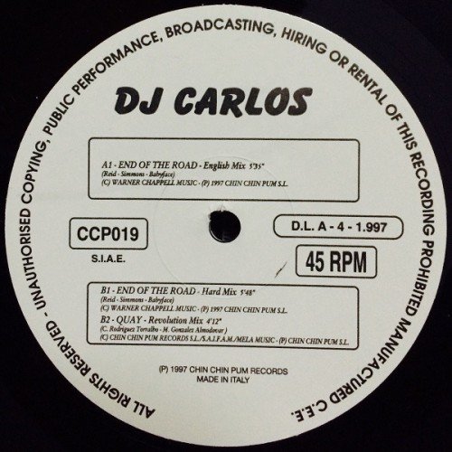 Dj Carlos - The End Of The Road
