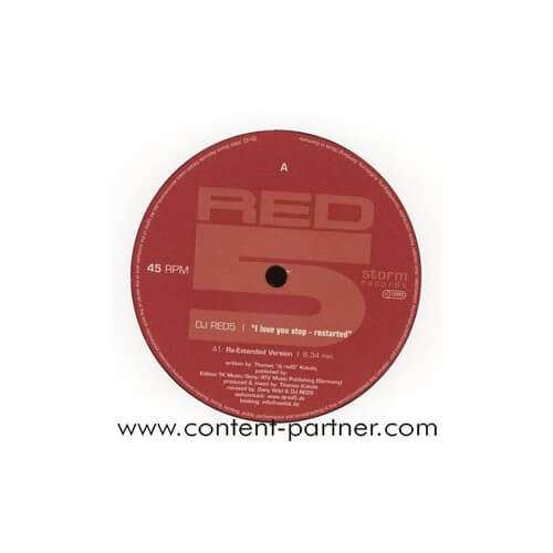 Dj red 5 - I love you stop